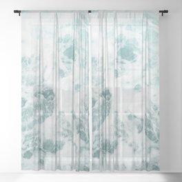 Rough Ocean Sheer Curtain