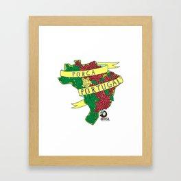Força Portugal Framed Art Print
