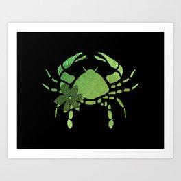 Cancer the Crab Art Print