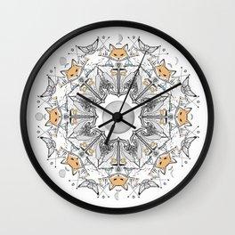 Pacific Mandala Wall Clock