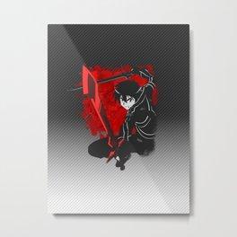 Kirito Strikes! Metal Print