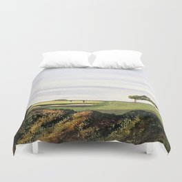 Torrey Pines South Golf Course Hole 3 Duvet Cover