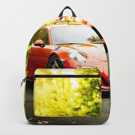 GT3 RS car photography Backpack