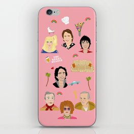 Three's Company Universe iPhone Skin
