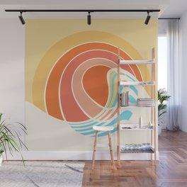 Sun Surf Wall Mural