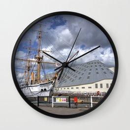 HMS Gannett Wall Clock