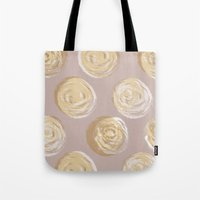 dot Tote Bags featuring Dot by Katie L Allen