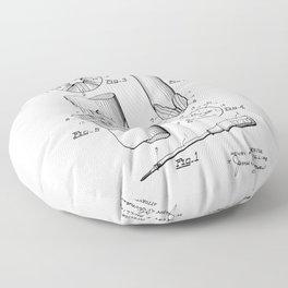 Phillips Screwdriver: Henry F. Phillips Screwdriver Patent Floor Pillow