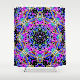 Drawing Floral Doodle G4 Shower Curtain