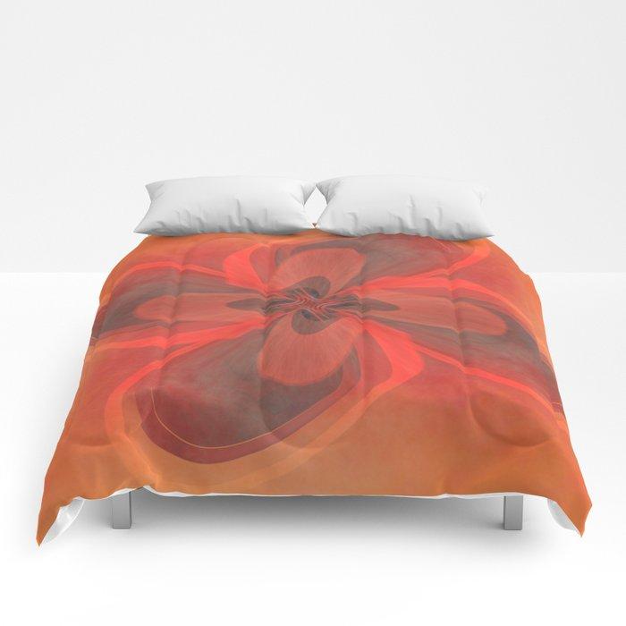 Retro Flower  Comforters