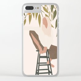 Chill Day Clear iPhone Case