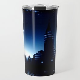 Night skyline. Travel Mug