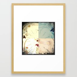 ...a garden Framed Art Print