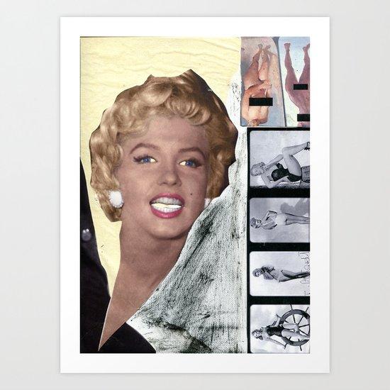 monroe 2 Art Print