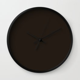 Perfect Day ~ Hot Fudge Wall Clock