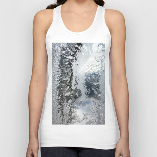 Frosty window Unisex Tank Top