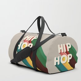HIP HOP - typography Duffle Bag