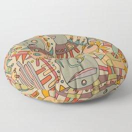 - schematic - Floor Pillow