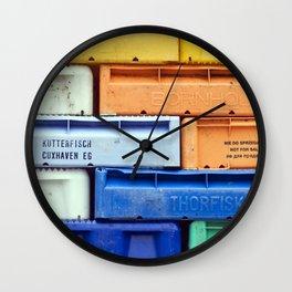 Fisher Port - Sassnitz - Isle Ruegen Wall Clock