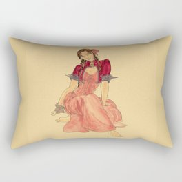 Steampunk Aerith Rectangular Pillow
