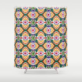 Ethnic ornament Shower Curtain