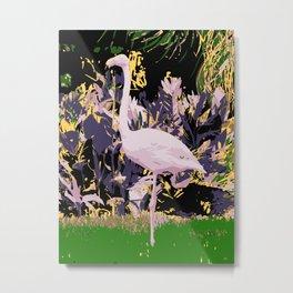 Flamingo02 Metal Print