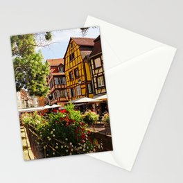 Colmar is a colorful poetry  Stationery Cards