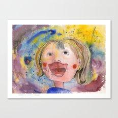 I feel happy Canvas Print