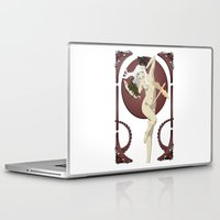 mother of dragons Laptop & iPad Skins featuring Dragons  by Andrew Formosa