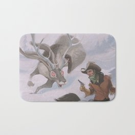 Frost - The legend of the snow beast was true Bath Mat