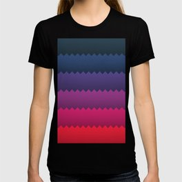 Gradient Zig Zag T-shirt