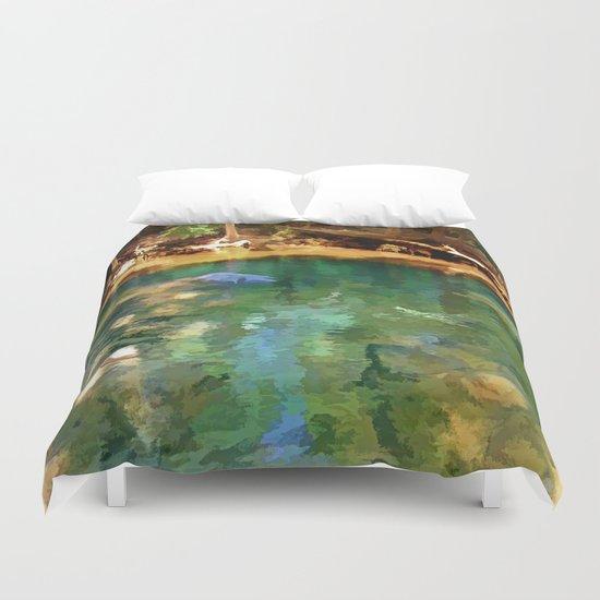 Glistening Pond Duvet Cover
