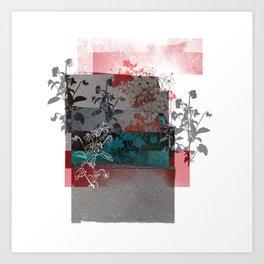 Anemony Art Print