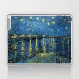 Starry Night Over the Rhône Laptop & iPad Skin