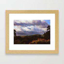 Windermere Hills - Landscape Photography Framed Art Print