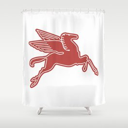 Dallas Pegasus Shower Curtain