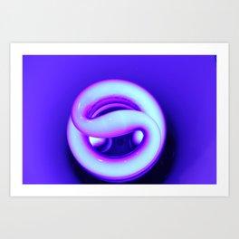 winding illumination Art Print