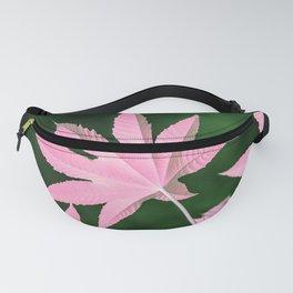 pink leaf Fanny Pack
