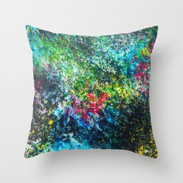 Raw Truth Throw Pillow