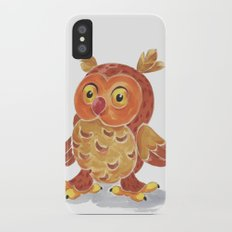 Nighty Owl  iPhone X Slim Case