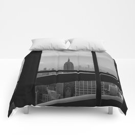 New York State of Mind III Comforters