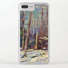 Tom Thomson Larry Dickson's Shack 1914 Canadian Landscape Artist Clear iPhone Case