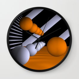 3D-geometry -6- Wall Clock