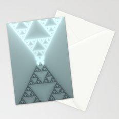 Triangles Glow Stationery Cards