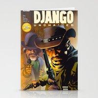 django Stationery Cards featuring Django by Don Kuing