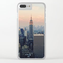 New York at Dusk Clear iPhone Case