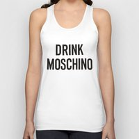moschino Tank Tops featuring moschino sweater moschino by Claudio Velázquez