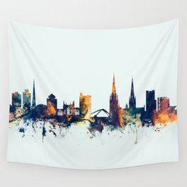 Coventry England Skyline Wall Tapestry