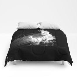 Still (b&w) Comforters