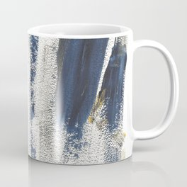 Navy Gold Pattern Coffee Mug